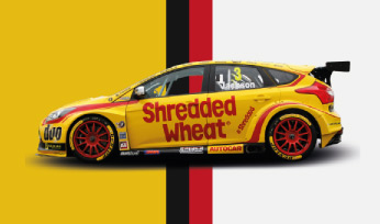 Team Shredded Wheat Racing with Duo