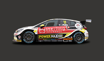 Sterling Insurance with Power Maxed Racing