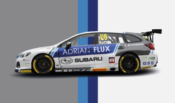 Adrian Flux Subaru Racing