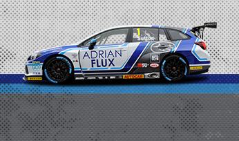 Adrian Flux Subaru Racing & Autoglym Academy Racing