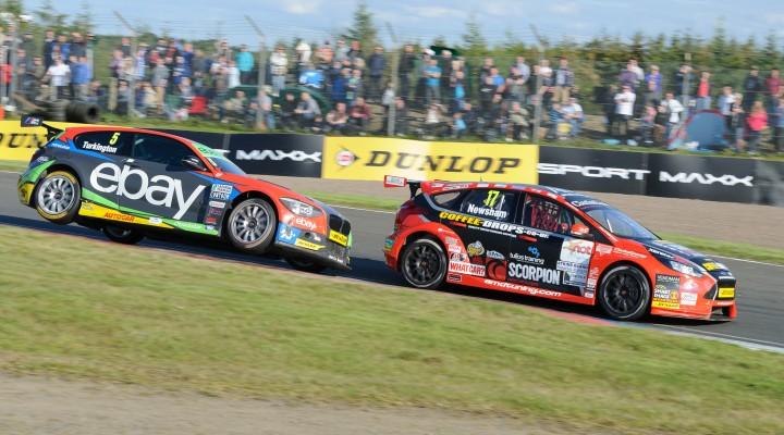 Knockhill Circuit. Round 7 Dunlop MSA British Touring Car Championship 2014