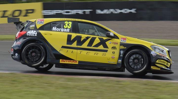 Adam Morgan (GBR) WIX Racing Mercedes Benz A Class