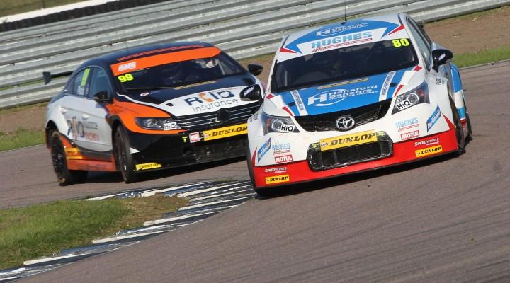 Les voitures du 'BTCC Touring Car Challenge