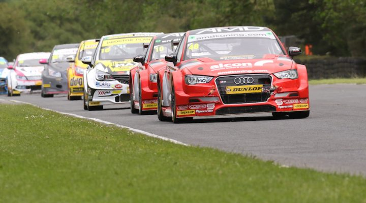 The Amdtuning With Cobra Exhausts Team Enjoyed Its Best Weekend Of Dunlop Msa British Touring Car Championship So Far Four Points Finishes