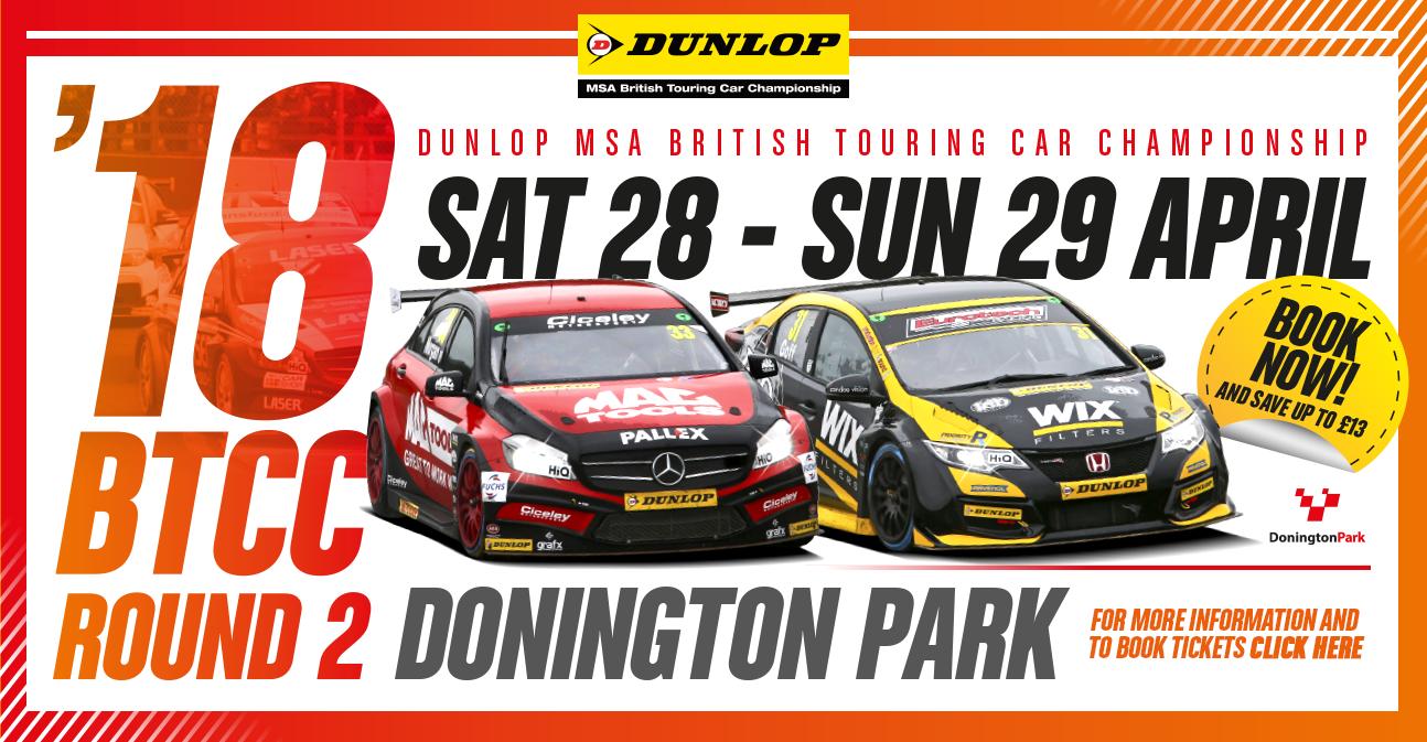 2018 Donington Park Banner