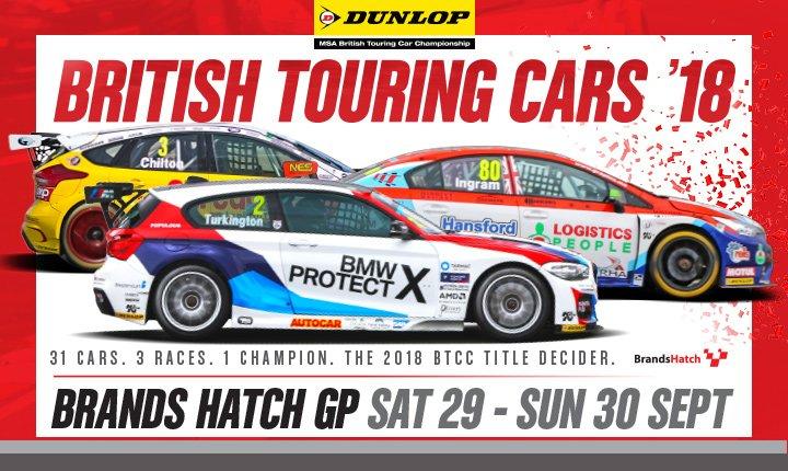 2018 Brands Hatch GP banner