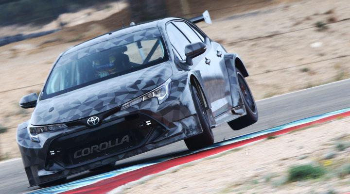Btcc Ingram Buzzing After Promising Spanish Test In New Toyota