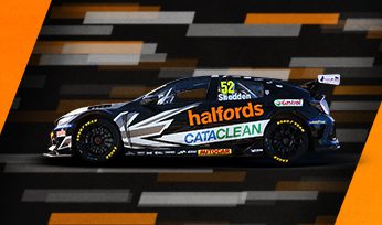 Halfords Racing with Cataclean
