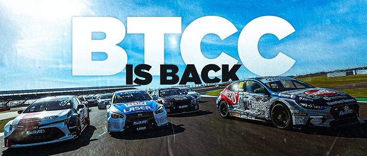 2021 BTCC IS BACK